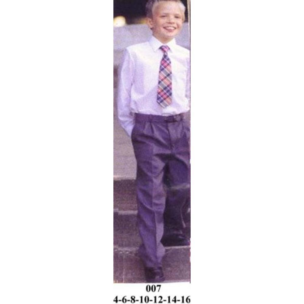 007 - Pantalon escolar pretina trasera con elastico