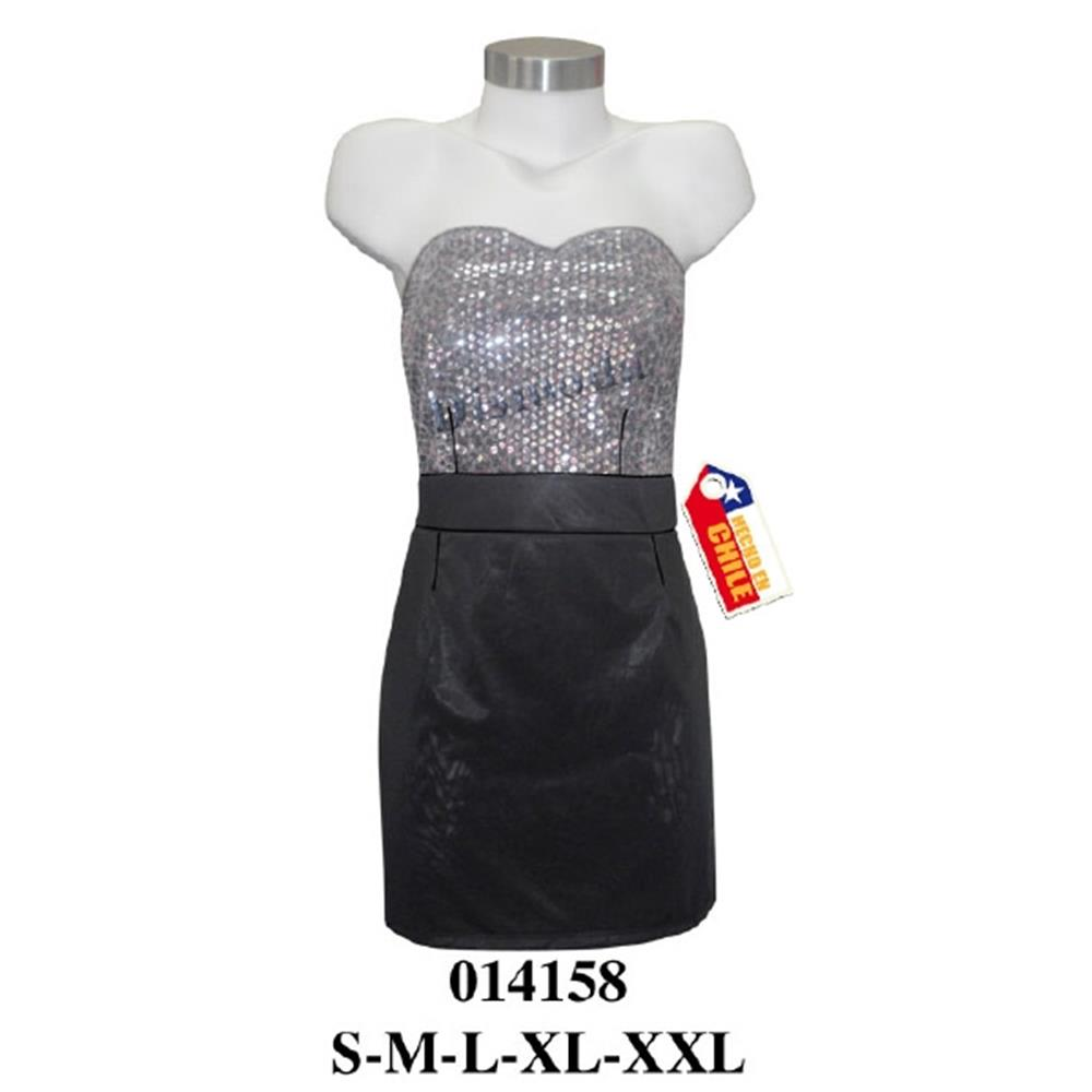 014158 - Vestido de fiesta straples