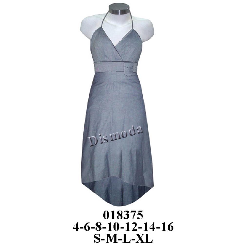 018375 - Vestido con pavilos