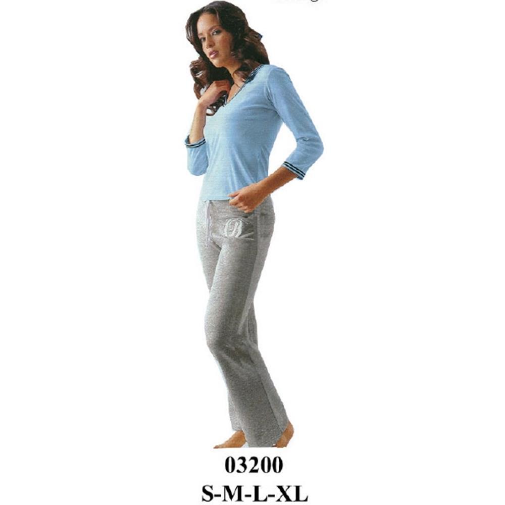 03200 - Pijama dama entallado