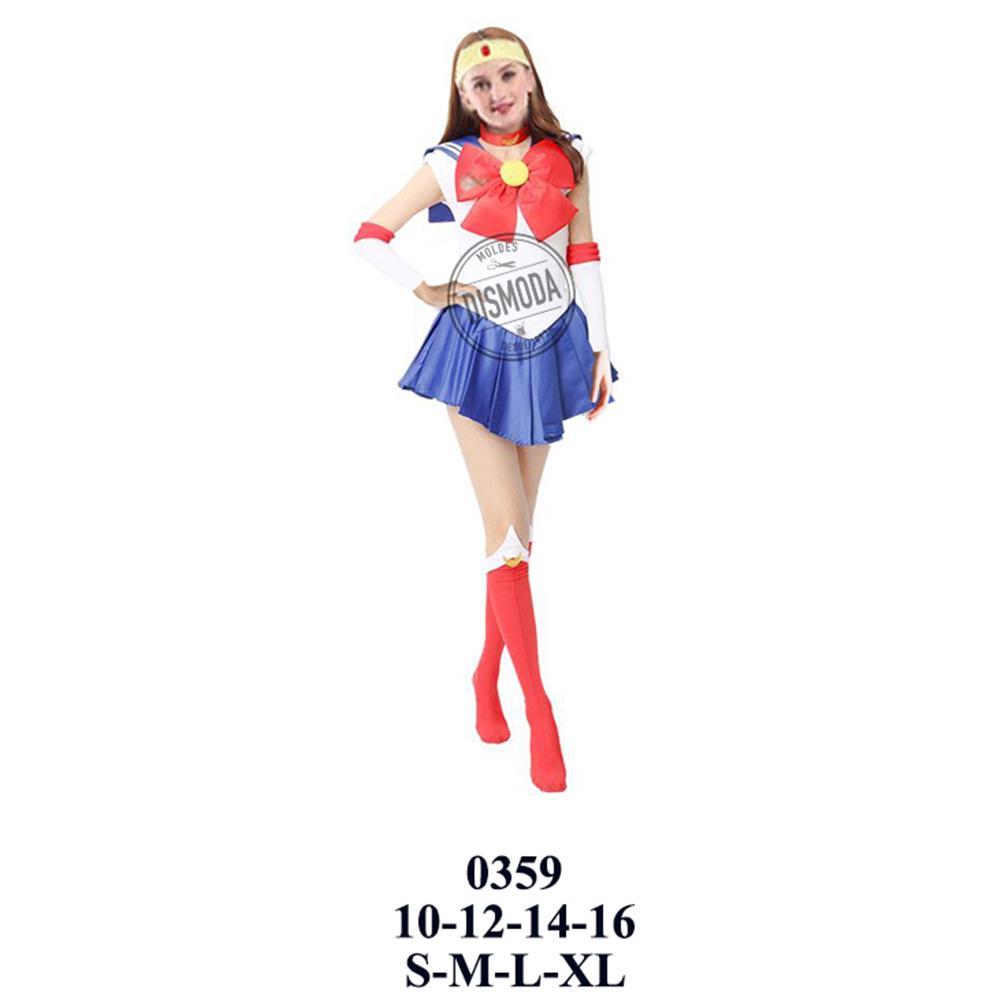 0359 - Disfraz de sailor moon