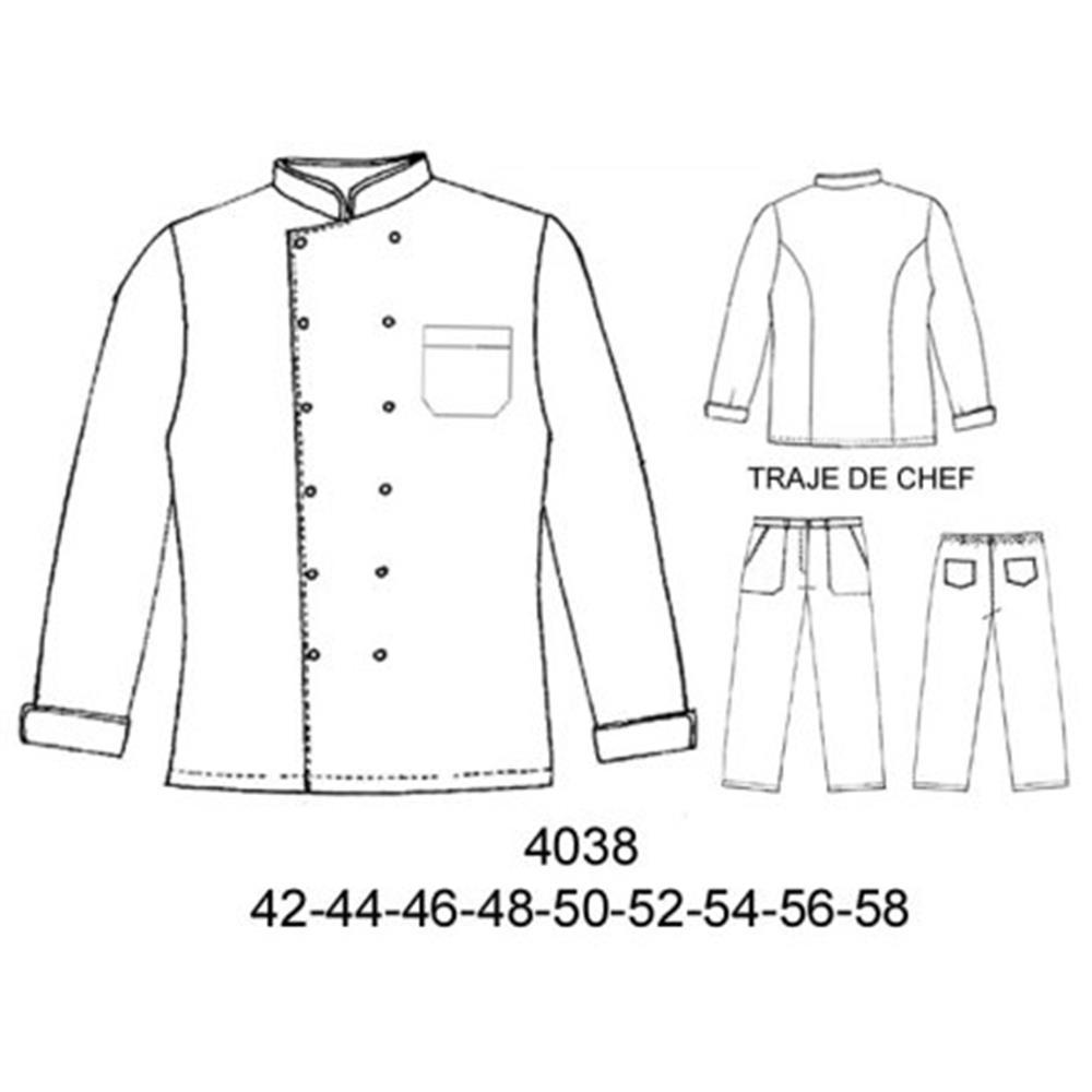 4038 - Traje de chef