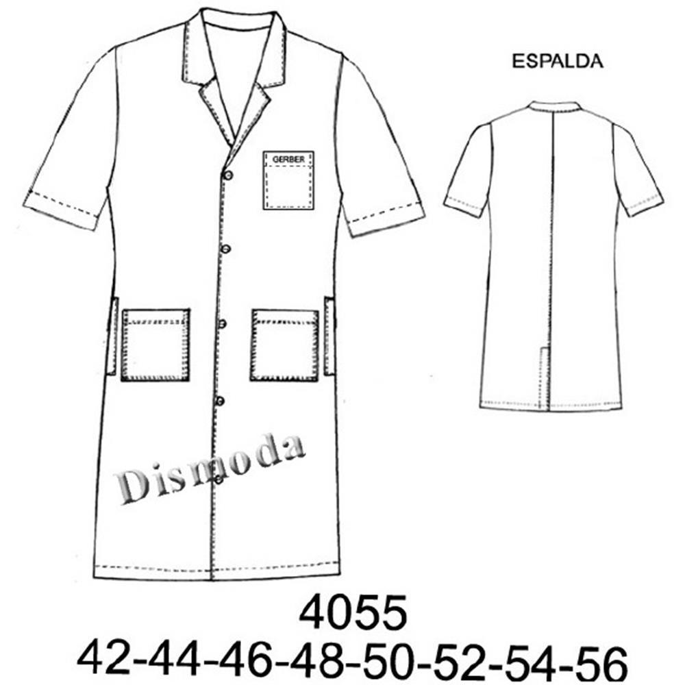 4055 - Cotona manga corta