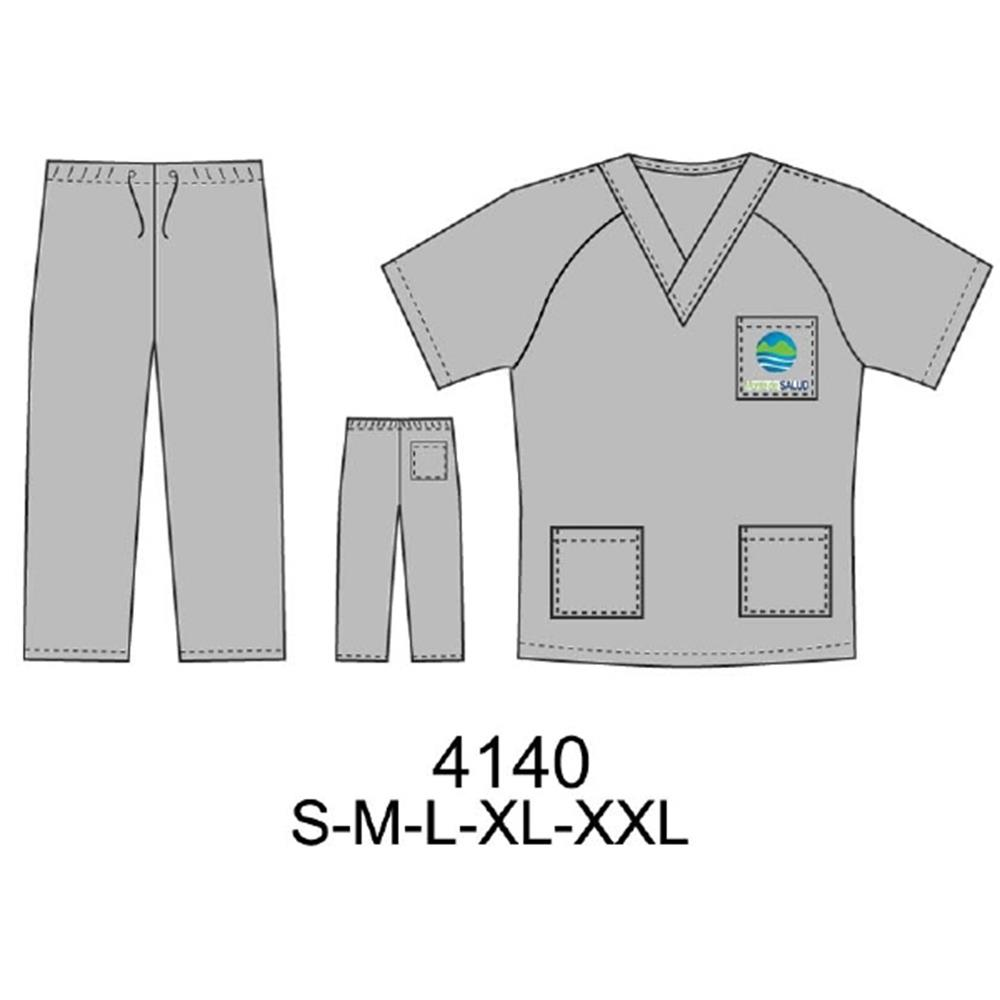 4140 - Traje clínico hombre
