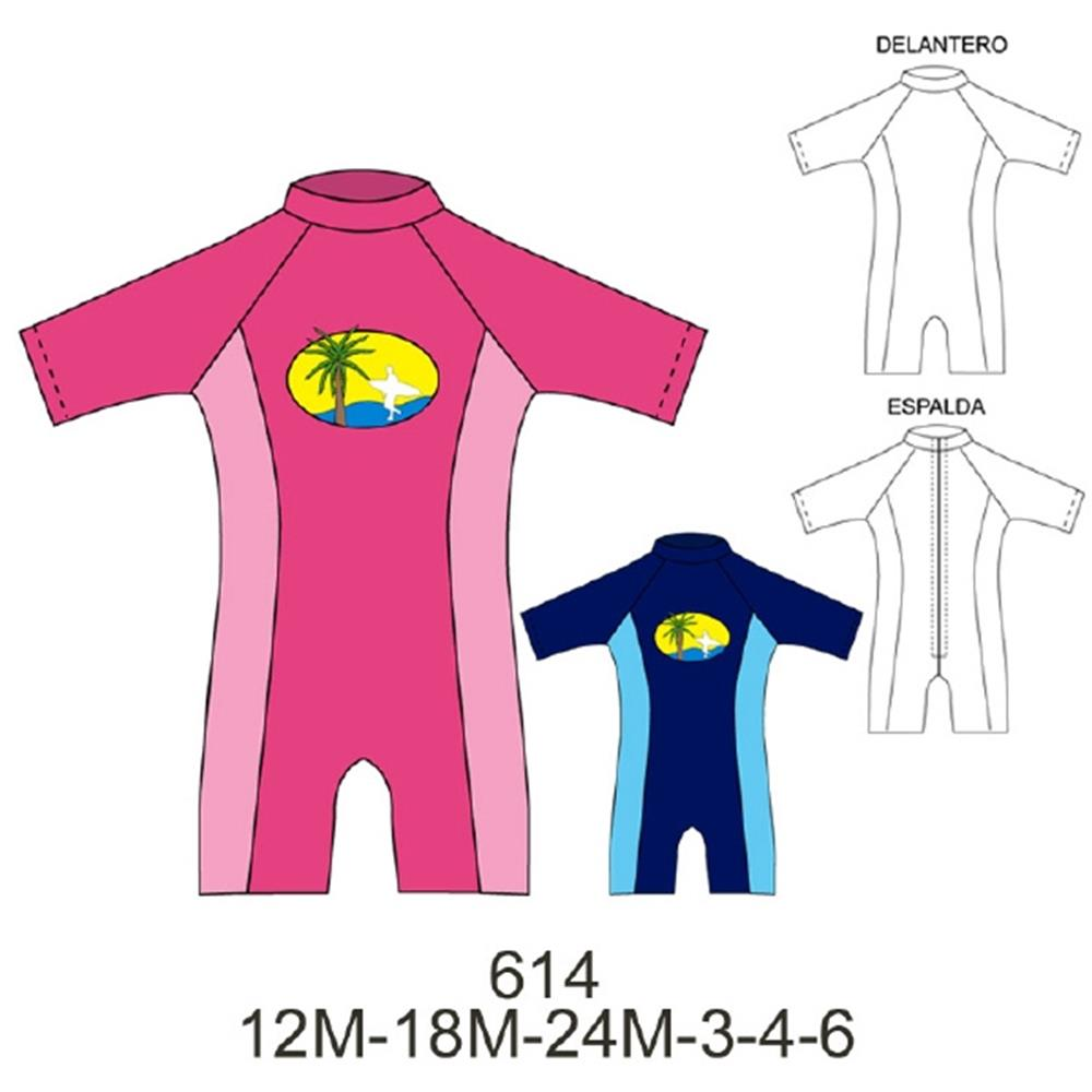 614 - Enterito lycra niño máxima protección solar,